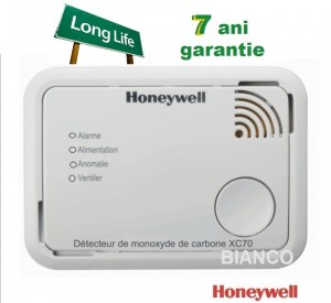 Imagine Detector de monoxid de carbon portabil Honeywell XC70