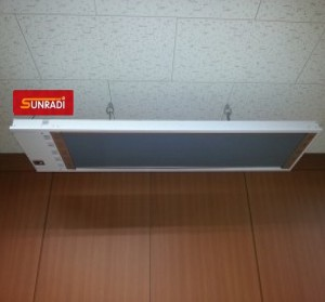 Imagine Panou radiant cu infrarosu SunRadi SH 25 - 2500 W cu telecomanda