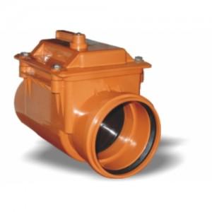 Imagine Clapeta antiretur din PVC 200 mm cu inchizator
