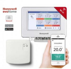 Imagine Termostat Honeywell EvoHOME WiFi pentru controlul centralei termice