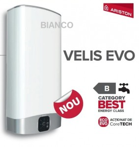 Imagine Boiler electric Ariston VELIS EVO 80 litri