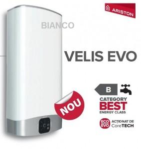 Imagine Boiler electric Ariston VELIS EVO 100 litri