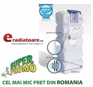 Imagine AquaPUR 750 litri sistem de filtrare stocare si pompare apa