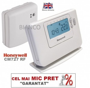 Imagine Cronotermostat fara fir programabil Honeywell CM 727 RF