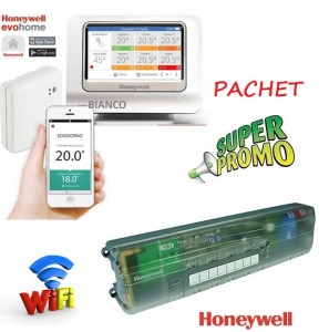 Imagine PACHET WiFi Honeywell EvoHOME si HCC80