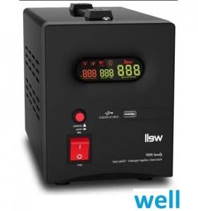 Imagine Stabilizator de tensiune cu releu Well 1500VA- 900 W