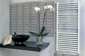 Imagine Fondital COOL - calorifer din aluminiu pentru baie 500x860