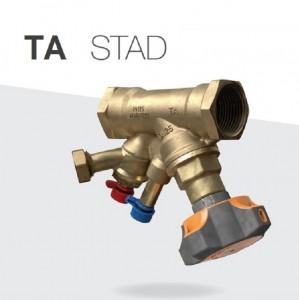 Imagine Vana de echilibrare cu golire TA STAD 3/4 DN20