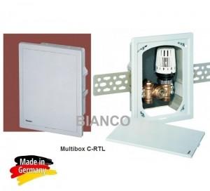 Imagine HEIMEIER Multibox C-RTL pentru reglajul sistemelor de incalzire prin pardoseala+calorifere
