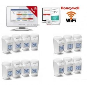 Imagine Termostat Honeywell EvoHOME pentru comanda centralei si 14 calorifere