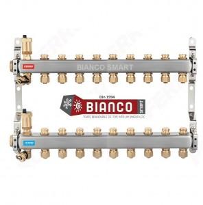 Imagine Distribuitor din inox cu 10 circuite tur - retur pentru calorifere