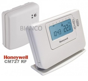 Imagine Termostat ambient fara fir programabil Honeywell CM 727 RF