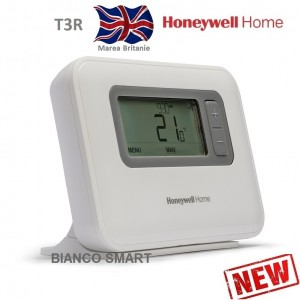 Imagine Termostat de ambient fara fir Honeywell T3R