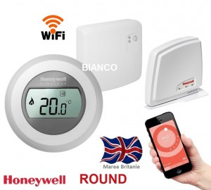 Imagine Termostat de ambient WiFi Honeywell ROUND Connected
