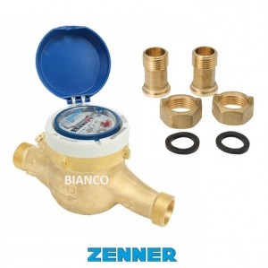 Imagine Contor pentru apa rece, clasa B, cu mecanism uscat, Zenner MTKD, DN40-11/2