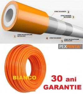 Imagine Teava Pex PENTA 25x2.3 cu bariera de oxigen colac 50 m