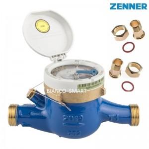 Imagine Contor pentru apa rece cu mecanism umed, clasa C, Zenner MNK, DN 25 - 1