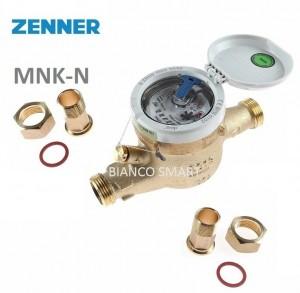 Imagine Contor pentru apa rece, clasa B, cu mecanism umed, Zenner MNK, DN20-3/4