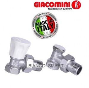 Imagine Set robinet tur si retur GIACOMINI 1/2 colt