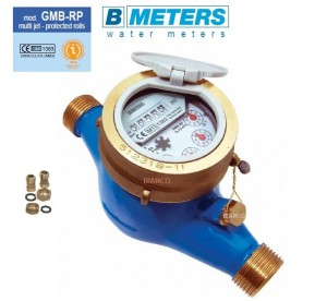 Imagine Contor apa rece BMeters GMB-RP cu cadran umed cl.C DN32-11/4