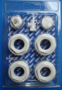 Imagine Kit accesorii radiator aluminiu