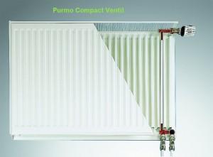 Imagine Calorifer Purmo Compact Ventil 22-600-1000