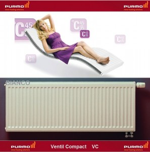 Imagine Calorifer Purmo Compact Ventil 22-600-2000