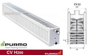 Imagine Calorifer Purmo CV 22x200x600