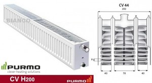 Imagine Calorifer Purmo CV 44x200x2600