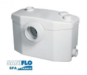 Imagine Pompa pentru ape uzate SaniPRO XR Silence - WC, lavoar, dus, bideu