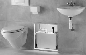 Imagine Pompa pentru ape uzate SaniPACK - WC suspendat, lavoar, dus, bideu