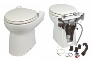 Imagine SaniCOMPACT C43 Dual Flush - vas WC cu sistem de tocare-pompare integrat