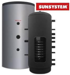 Imagine Rezervor de acumulare pentru apa calda cu serpentina Sunsistem PR 1500 litri