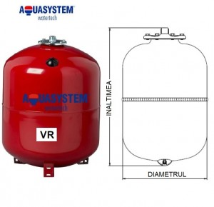 Imagine Vas de expansiune VR 24 litri pentru incalzire