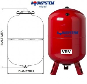 Imagine Vas de expansiune VRV 50 litri pentru incalzire