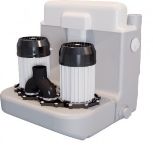 Imagine Pompa pentru ape uzate SaniCOM 2 - spalatorii, dus, lavoar, bideu, masina de spalat