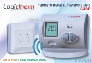 Imagine Termostat de ambient fara fir Logictherm C3 RF