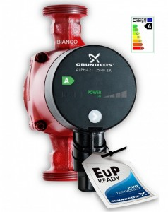 Imagine Pompa Grundfos ALPHA 2L  25-40/180