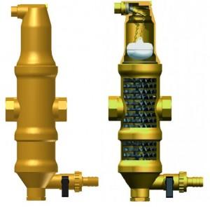 Imagine Separator de microbule si particole de namol cu purjare Zeparo ZUKM 11/4
