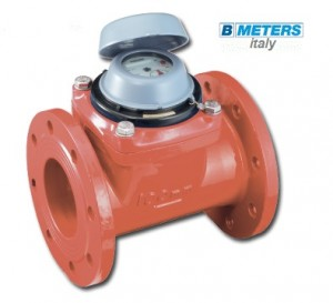 Imagine Apometru apa calda DN80 tip Woltmann WDE-K30 cl.B cu flansa