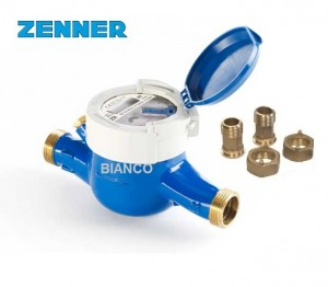 Imagine Apometru apa rece cu role protejate 11/2 DN40 Zenner MNK-RP