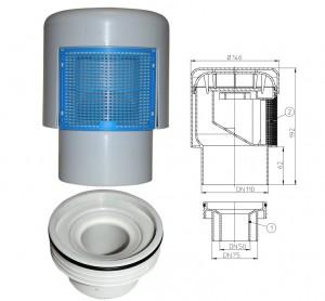 Imagine Aerator cu membrana DN50/75/110