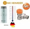 Foto Robinet termostatic cu limitator de debit Heimeier 1/2 si cap HALO