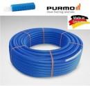 Foto Teava PEX Purmo 16x2 colac 100 m cu izolatie albastra