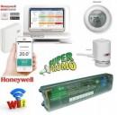 Foto PACHET WiFi Honeywell EvoHOME cu 4 zone si 8 circuite