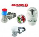 Foto Giacomini R470F - set robinet termostatat cap termostatic si robinet retur 1/2 colt