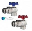 Foto Set robineti coltar de izolare DN25 cu olandez