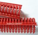 Foto Set 400 agrafe TAKER 3D LONG pentru fixarea tevilor PEX 14-17 mm