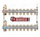 Foto Distribuitor din inox cu 8 circuite tur - retur pentru calorifere