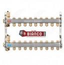 Foto Distribuitor din inox cu 9 circuite tur - retur pentru calorifere